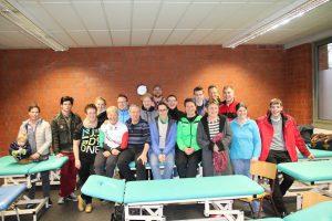 Teilnehmer des Massage-Seminars in Bergkamen